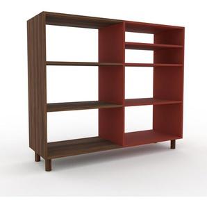 Schallplattenregal Burgundrot - Modernes Regal für Schallplatten: Hochwertige Qualität, einzigartiges Design - 152 x 130 x 47 cm, Selbst designen