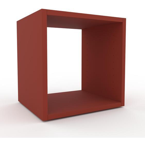 Schallplattenregal Terrakotta - Modernes Regal für Schallplatten: Hochwertige Qualität, einzigartiges Design - 41 x 41 x 35 cm, Selbst designen
