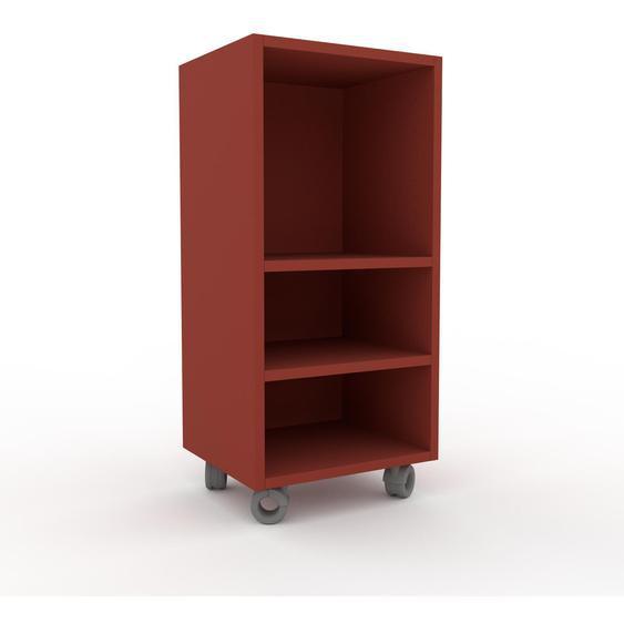 Schallplattenregal Terrakotta - Modernes Regal für Schallplatten: Hochwertige Qualität, einzigartiges Design - 41 x 87 x 35 cm, Selbst designen