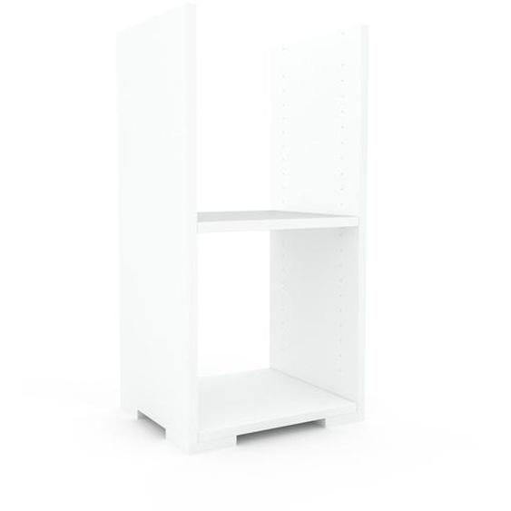 Schallplattenregal Weiß - Modernes Regal für Schallplatten: Hochwertige Qualität, einzigartiges Design - 41 x 81 x 35 cm, Selbst designen