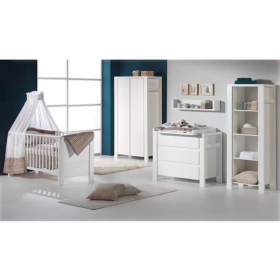 Schardt Babyzimmer Milano 3-teilig Weiß Spanplatte 78x82x150 cm (BxHxT)