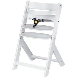 Schardt Treppenhochstuhl  weiß  Domino | weiß | Buche massiv | Möbel Kraft