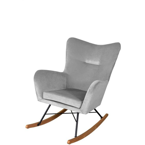 Schaukelsessel Sessel VISTA in diversen Stoff und Farbvar...
