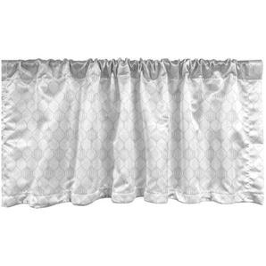 Scheibengardine »Vorhang Volant für Küche Schlafzimmer Dekor mit Stangentasche«, Abakuhaus