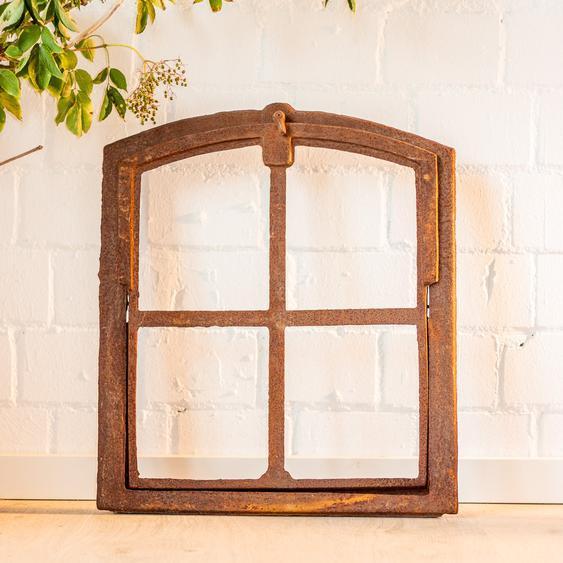Scheunenfenster zum aufklappen, Eisen Fenster für Mauerruine, Eisenfenster Stall
