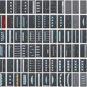 Scheurich Aluminium Haustür ISO-90 - Wählen Sie Ihr Tür Motiv
