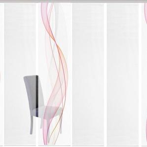 Schiebegardine »6ER SET HEIGHTS«, Vision S, Paneelwagen (6 Stück), Schiebevorhang 6er Set Digitaldruck