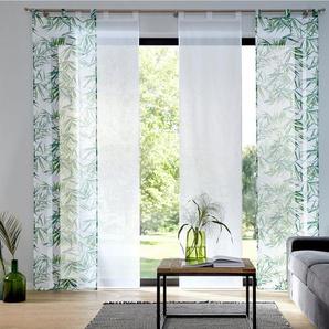 Schiebegardine »Bambus«, my home, Schlaufen (2 Stück)