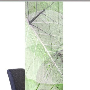 Schiebegardine »BLATTARI«, Vision S, Paneelwagen (1 Stück), Dekostoff Digitaldruck