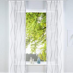 Schiebegardine »Dimona«, my home, Klettschiene (2 Stück), inkl. Befestigungszubehör
