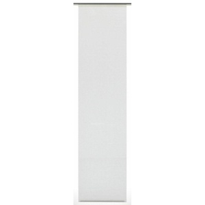 Schiebegardine »Flächenvorhang Stoff Uni mit silbernen Paneelwagen«, GARDINIA, Klettband (1 Stück)