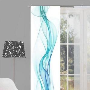 Schiebegardine »Home Wohnideen Schiebevorhang Dekostoff Digitaldru«, HOME WOHNIDEEN, (1 Stück)