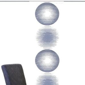 Schiebegardine »MARCEL«, HOME WOHNIDEEN, Paneelwagen (1 Stück), Schiebevorhang Effektvoile Scherli