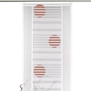 Schiebegardine »Sunna«, VHG, Klettband (1 Stück), inkl. Befestigungszubehör, gerader Abschluss