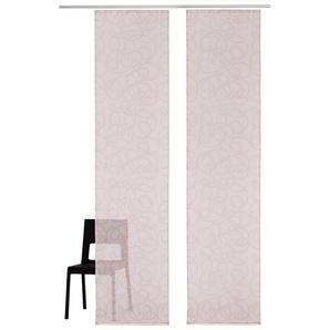Schiebegardine »Tanaro«, my home, Klettschiene (2 Stück), inkl. Befestigungsmaterial