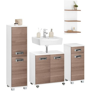 Schildmeyer Badmöbel-Set , weiß, »Cadi«, FSC®-zertifiziert