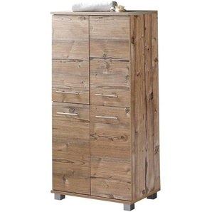 Schildmeyer Isola Highboard 60x32,5x117cm Silberfichte