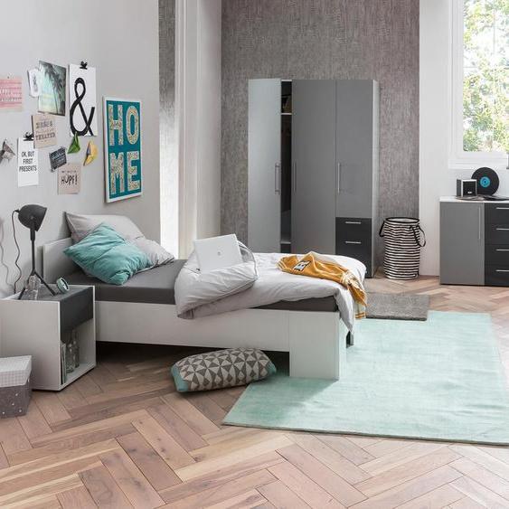 Schildmeyer-Jugendbett »Laurin« - Weiß - Holz -