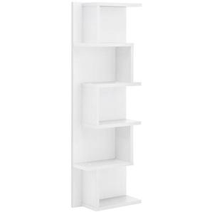 Schildmeyer Lumo Hängeregal 30x15x98,5cm Weiß