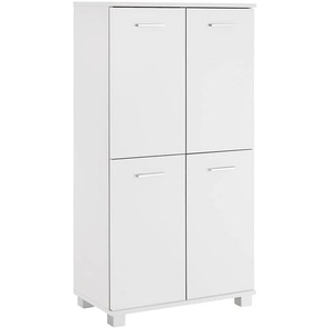 Schildmeyer Lumo Highboard 60x32,5x117cm Weiß