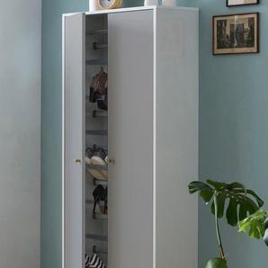Schildmeyer Schuhschrank Jonte B/H/T: 65,1 cm x 175,7 30,0 cm, 2 weiß Schuhschränke Garderoben Nachhaltige Möbel