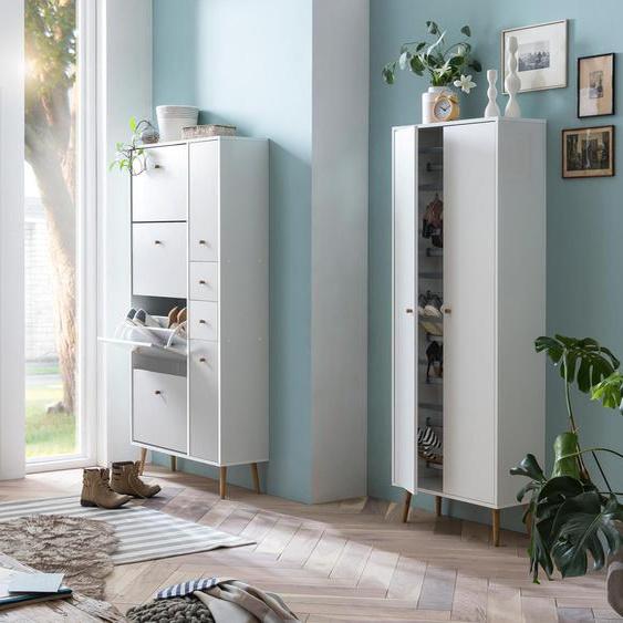 Schildmeyer-Schuhschrank »Nordic 900K« - braun - Holz -