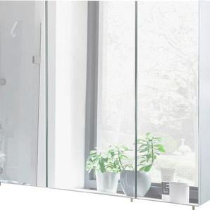 Schildmeyer Spiegelschrank Breite 100 cm, weiß, »Basic«, FSC®-zertifiziert