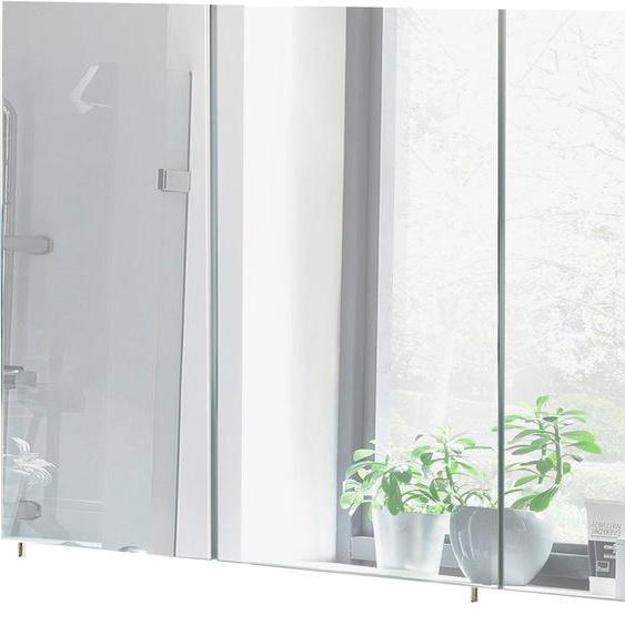 Schildmeyer Spiegelschrank »Basic« Breite 120 cm, 3-türig, Glaseinlegeböden, Made in Germany