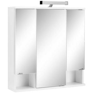 Schildmeyer Badezimmerspiegelschrank »Cadi« mit LED Beleuchtung