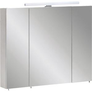 Schildmeyer Spiegelschrank »Nikosia« Inkl. LED Beleuchtung, LED-Aufbauleuchte: 50,0 cm