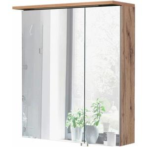Schildmeyer Spiegelschrank  und Glaseinlegeböden, Breite 60cm, »Profil 16«, Energieeffizienzklasse: A (Skala A++ bis E)