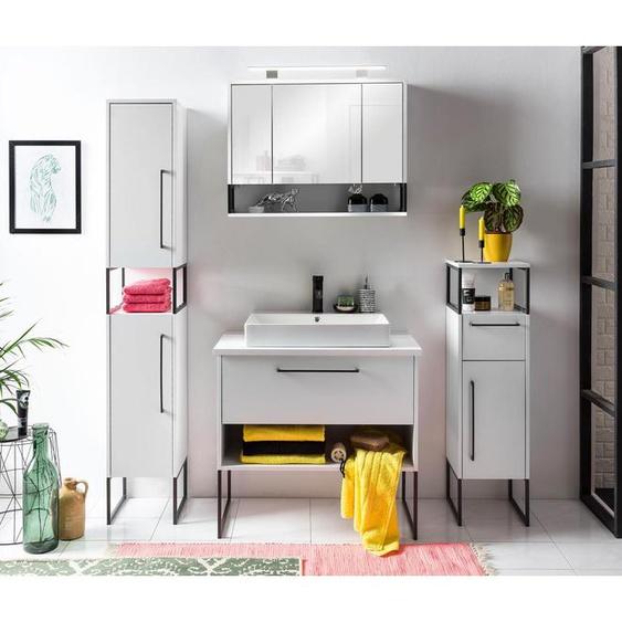Schildmeyer-Waschtisch »Dumone« WT 850 - Weiß - Holz -