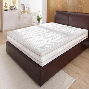 Schlaf-gut Kaltschaummatratze »Medisan DeLuxe KS«, 1x 180x200 cm, abnehmbarer Bezug, ca. 25 cm hoch, weiß, 101-120 kg