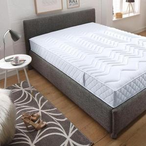 Schlaf-gut Komfortschaum-Matratze »Prestige 23 S - Komfort«, 1x 90x200 cm, Abnehmbarer Bezug, weiß, 101-120 kg