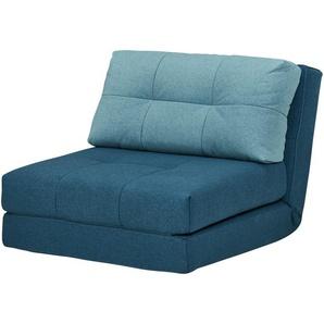 Schlafsessel petrol - Stoff Becky ¦ türkis/petrol ¦ Maße (cm): B: 90 H: 72 T: 80 Polstermöbel  Sessel  Schlafsessel » Höffner