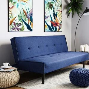 3-Sitzer Sofa Polsterbezug marineblau VISBY