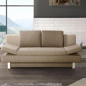 Schlafsofa Blue-River, beige, 150x200 cm