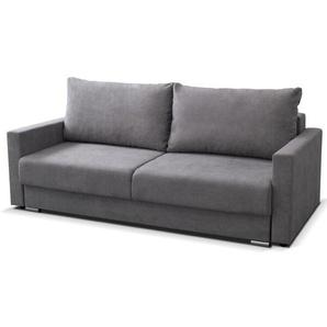 schlafsofas in grau preisvergleich moebel 24. Black Bedroom Furniture Sets. Home Design Ideas