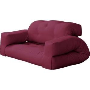 Futon-Sessel »Hippo«, dunkelrot, 140/200cm, Karup Design