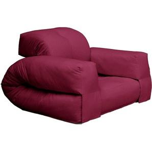 Schlafsofa »Hippo«, rot, 90 cm, Karup Design
