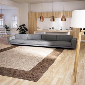 Schlafsofa Lichtgrau - Elegantes, gemütliches Bettsofa: Hochwertige Qualität, einzigartiges Design - 448 x 75 x 98 cm, konfigurierbar
