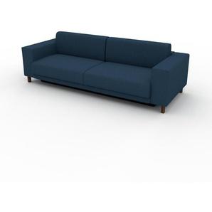 Sofa Ozeanblau - Moderne Designer-Couch: Hochwertige Qualität, einzigartiges Design - 248 x 75 x 98 cm, Komplett anpassbar