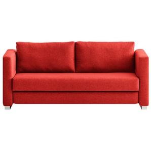 schlafsofas in rot preise qualit t vergleichen m bel 24. Black Bedroom Furniture Sets. Home Design Ideas