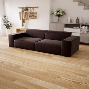 Sofa Kaffeebraun - Moderne Designer-Couch: Hochwertige Qualität, einzigartiges Design - 268 x 72 x 107 cm, Komplett anpassbar