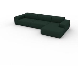 Schlafsofa Tannengrün - Elegantes, gemütliches Bettsofa: Hochwertige Qualität, einzigartiges Design - 345 x 72 x 168 cm, konfigurierbar
