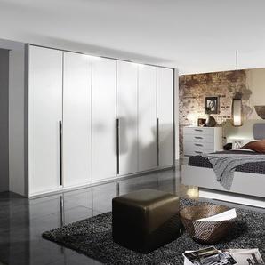 Schlafzimmer Hoody in alpinweiß/seidengrau, Liegeflächenbreite ca. 180 cm