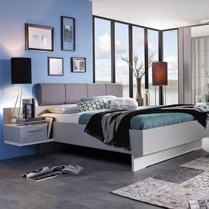 Schlafzimmer Luisa in seidengrau/alpinweiß