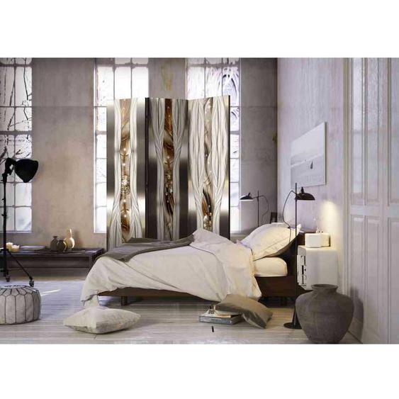 Schlafzimmer Paravent mit Diamant Motiven modern