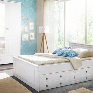 Home affaire Schlafzimmer-Set , weiß, FSC-Zertifikat, »Hugo«, , , FSC®-zertifiziert