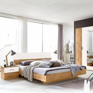 Schlafzimmer-Set , weiß, »Katrin«, mit Schubkästen, Wimex
